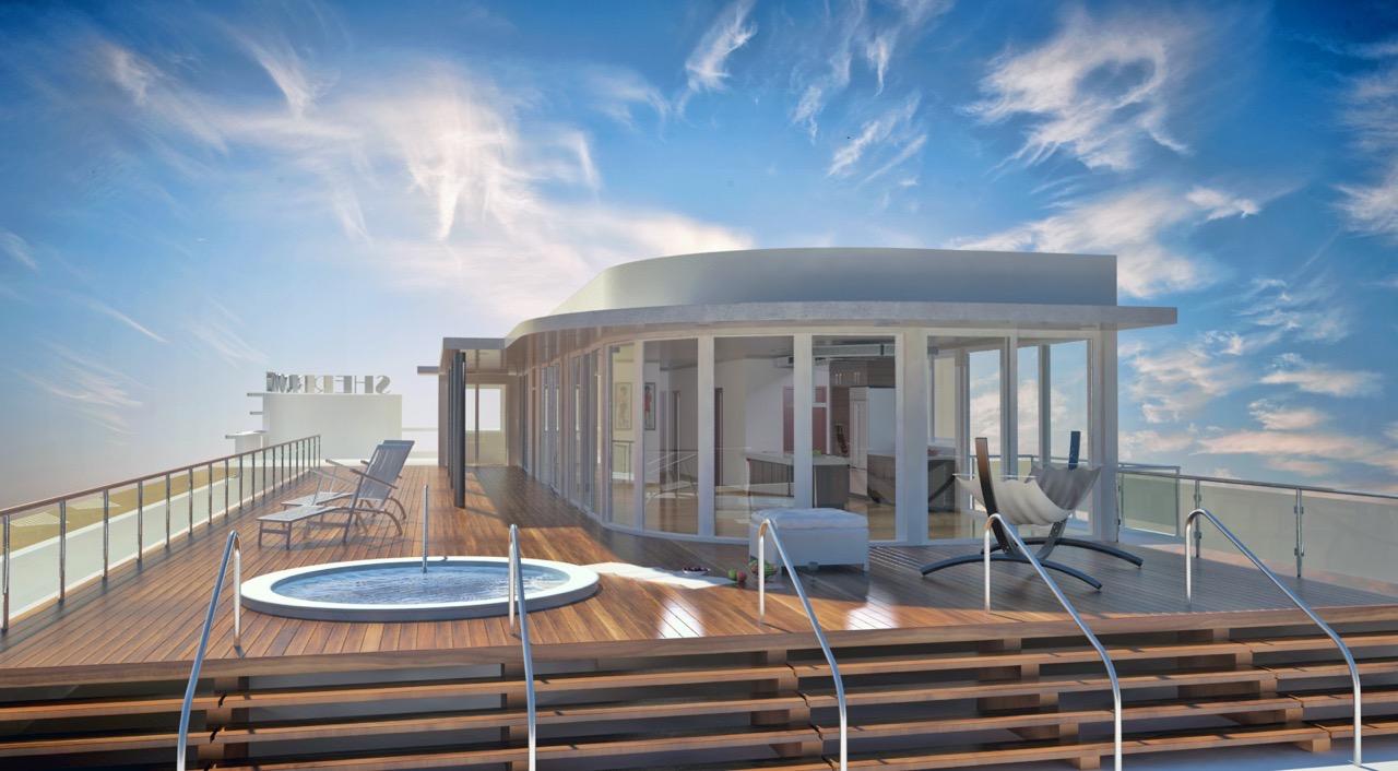 Solarium And Pool Hotel Amenities